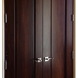Mediterranean Doors Custom Solid Wood Radius 1 Panel
