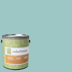 Inspired Flat Interior Paint, Dream .04, Gallon - Colorhouse paints are zero VOC, low-odor, Green Wise Gold certified and have superior coverage and durability. Our artist-crafted colors are designed to be easy backdrops for living. Colorhouse paints are 100% acrylic with no VOCs (volatile organic compounds), no toxic fumes/HAPs-free, no reproductive toxins, and no chemical solvents.