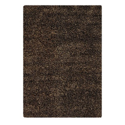 Chandra - Contemporary Camilla Area Rug - The Camilla area rug Collection offers an affordable assortment of Contemporary stylings. Camilla features a blend of natural Brown-Light Brown color. Handmade of Wool  Polyester the Camilla Collection is an intriguing compliment to any decor.