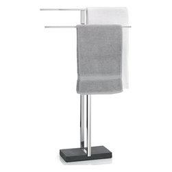 Blomus 68624 Menoto Towel Rack with Black Base - This Blomus Item Features: