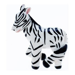JVJ Hardware Zebra Knob - This is really big — about 3 inches. I had similar ones in my son's nursery.