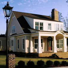 Traditional Exterior by Fred Griffith Homes