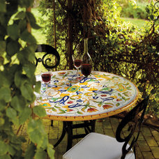 Eclectic Outdoor Tables by FRONTGATE