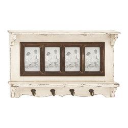 All Rounder Wood Wall Photo Shelf - Description: