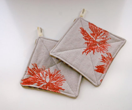 Tropical Oven Mitts And Pot Holders by Etsy