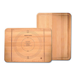 Catskill Craftsman - Perfect Pastry Flat Grain Cutting Board - Every kitchen needs a Perfect Pastry flat grain cutting board Cooking accessory features juice groove on one side and brand name on opposite sideAdd a new dimension to your dining experience using this reversible cutting board