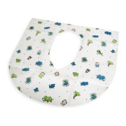 Summer Infant - Summer Infant  Clean and Green Potty Protectors (Set of 2) - The generous size of these potty protectors drapes over the front and sides where kids hold on. They're soft and waterproof.