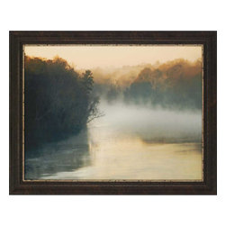 Paragon - Misty Waters - Framed Art - Each product is custom made upon order so there might be small variations from the picture displayed. No two pieces are exactly alike.