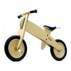 LIKEaBIKE Midi Wooden Bike - Able to withstand rough and tumble without looking too beefed up, this sleek bike is handmade from high quality birch and steel, this two-wheeler is as sturdy as it is unique to view. Perfect for a child who wants to ride a two-wheeler but hasn't yet quite grasped the concept.