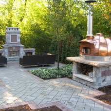 Outdoor Pizza Ovens by Genus Loci Ecological Landscapes Inc.