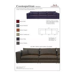 Cosmopolitan Modular Sectional Sofa - Adam B.