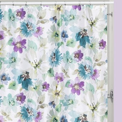 Bouquet Shower Curtain by Creative Bath Products - Add a gorgeous touch of color to your bathroom with the Bouquet Shower Curtain by Creative Bath Products. Featuring the same floral pattern as the rest of the Bouquet bathroom collection (other pieces sold separately), this shower curtain is made from 100% polyester and is machine-washable for easy care.About Creative BathFor over 30 years, Creative Bath has developed innovative, stylish bathroom decor items. They have grown exponentially, and now you can find their products in major retail and online stores around the world. From shower curtains to soap dishes and everything in between, Creative Bath brings you high quality items to enhance your lifestyle.