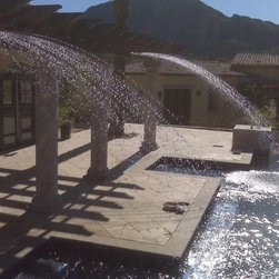 Custom Water Features - The coolest accessory for your pool or fountain, custom-made to your needs!