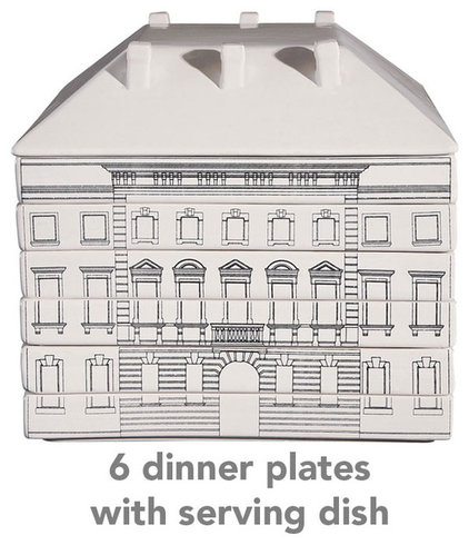 Traditional Dinner Plates by A+R