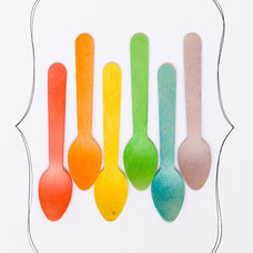 Eclectic Disposable Utensils by Etsy