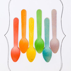 eclectic flatware by Etsy