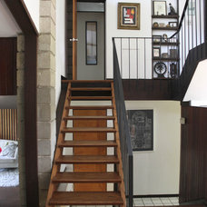 Modern Staircase by At Home Modern