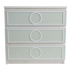 "O'verlays® Gracie Kit for IKEA Malm 3 Drawer: 7"" x 29"" x 1/4"" (3) - O'verlays® Gracie Kit for IKEA® Malm 3 Drawer: 7"" x 29"" x 1/4"" (3)"