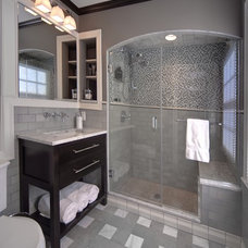 contemporary bathroom by J.S. Brown & Co.
