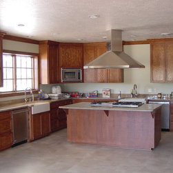 English Chestnut Stained Cabinets Kitchen Cabinetry: Find ...