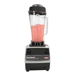 VitaMix - Vita-Mix 748  64-oz Blender - On counter blending station with 64 ounce capacity Vita-Mix features a clear mixing container Blender is powered by a 2 Hp motor