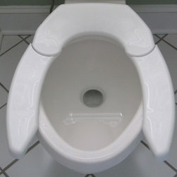 Bariatric / Aging-in-Place - Adjustable Advantage Toilet Seat