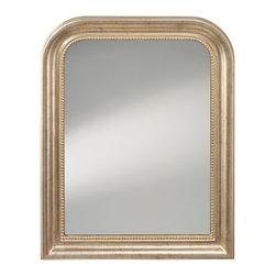 Murray Feiss - Murray Feiss MR1212DSL Distressed Silver Leaf Mirror - Murray Feiss MR1212DSL Distressed Silver Leaf Mirror