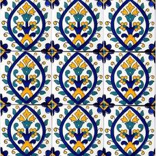 Mediterranean Tile by Ceramic Tiles & Mosaic Wall Murals