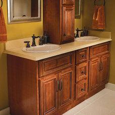 Mediterranean Bathroom Vanities And Sink Consoles by CL Kitchens Bath & Closets