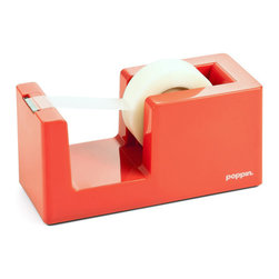 Ningbo Dinghua Industrial Limited - Tape Dispenser and Tape, Coral - Let's dispense with those lesser models.Ships in: 1-2 business days