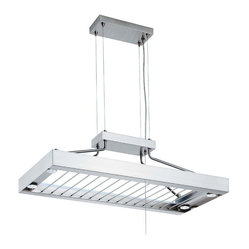Lithonia Lighting 116PRL 6 Light Contemporary Pot Pan Rack