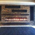 Las Vegas Linear Gas Fireplace - Custom Hearth Las Vegas