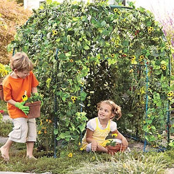 GardenFort - Let your garden grow around this natural playspace.