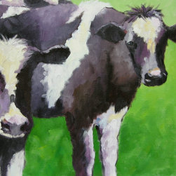 Roweboat Art Inc. - Two's Company, Fine Art Reproduction, 24X18 - Original painting reproduction