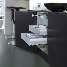 Contemporary Kitchen Cabinets by Belle Design Build