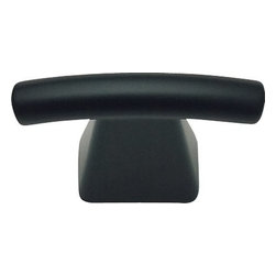 "Atlas Homewares - Cabinet Hardware - Fulcrum 1 1/2"" Knob in Matte Black -"