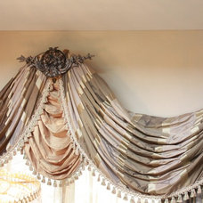 Traditional Curtains by Lena Kroupnik Interiors