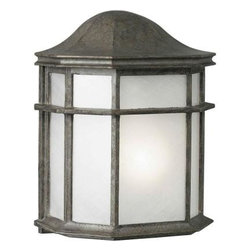 Illumine - Illumine Outdoor Lanterns. 1-Light Outdoor River Rock Lantern with White Acrylic - Shop for Lighting & Fans at The Home Depot. The Burton Collection supplied by CLI features a wide variety of classic fixtures. If you are looking for a sensible way to dress up a room, there is no better choice than this 1-Light Outdoor Lantern in a River Rock Finish complimented by White Acrylic Panel. From the modest chandeliers to the more rustic outdoor lighting, the Burton Collection will add a charming accent to any application.
