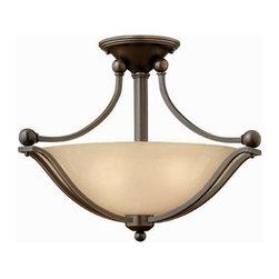 Hinkley Lighting 4651OB Semi Flush 2 Light Foyer Bolla Collection -