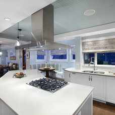 Eclectic Kitchen by Arrow House Design Studios