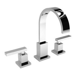 """Newport Brass - Newport Brass 2040/26 Polished Chrome SECANT Double Handle Widespread - Newport Brass Double Handle Widespread Lavatory Faucet with Metal Lever Handles from the Secant Collection NEWPORT BRASS-Flawless Beauty. From Faucet to Finish- With over 20 years of innovation and design success, Newport Brass decorative plumbing and bath products will satisfy your most intimate desire to transform an everyday kitchen or bath into a room of classic beauty and distinction. General Features :  Double Handle Widespread Lavatory Faucet Metal Lever Handles Solid Brass Construction 8"""" Centers Spout Reach is 5-13/16"""" Contemporary Styling  Finish Features :  Available in 25 Beautiful Finishes New Industry Leading Lacquer Finish Process  IAPMO Certified and Tested Long Life Finishes - 10 Year Warranty Durable, Color Protected, Scratch Resistant   Green, Low VOC, Energy Efficient Finishing Process  Innovative Design Features :  Timeless Design for Contemporary Styles Laminar Flow for Clear, Smooth, Luxurious Water Flow Clean Designs - No Visible Set Screws on Handles or Trim Plate  Handcrafted Quality Features :  Solid Non-Corrosive Forged Brass Components Patented Drip-Free Ceramic Valve Hand Polished and Inspected O-Ring Deck Seal Handles for Clean Counter Tops and Easy Installation  Easy Installation Features :  Direct Connect Hose System for Leak-Free Easy Installation Easy Install Valves with Custom Valve Nut that Insures Proper Cartridge Height and Easy Install  Certifications and Compliances :  WaterSense Certified AB1953 Low Lead Brass Materials Compliant"""