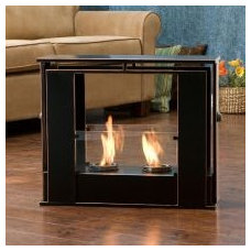 Contemporary Outdoor Fireplaces by Overstock.com