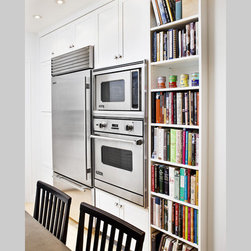 Wall oven - NYC Upper West Side pre-war coop luxury renovation -