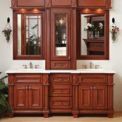 Bertch Custom Size Bath Cabinetry Madison - Bertch Semi Custom Bath Cabinetry Madison Beauty Arts & Crafts Detailing