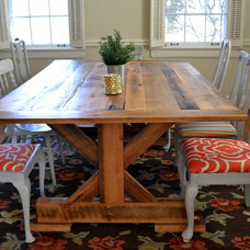 Farmhouse Dining Tables by Erwin Renovation LLC