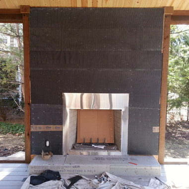 Natural Stone Veneer Fireplace Reface - Fireplace and Chimney ...