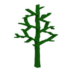 NurseryWorks Tree Bookcase, Green - This is a great alternative to boring bookshelves!