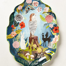 Eclectic Platters by Anthropologie