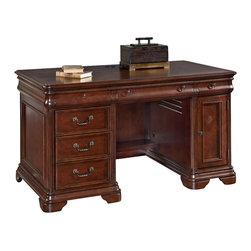 Hammary - Hammary Home Office Small Executive Desk - Small Executive Desk belongs to Home Office Collection by Hammary Desk (1)