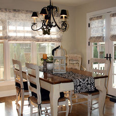 Traditional Dining Room by CBI Design Professionals, Inc.